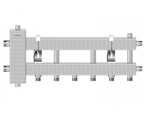 Балансировочный коллектор компактного исполнения BMK-60-4D